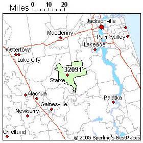 where is starke florida on a florida map starke zip 32091 florida