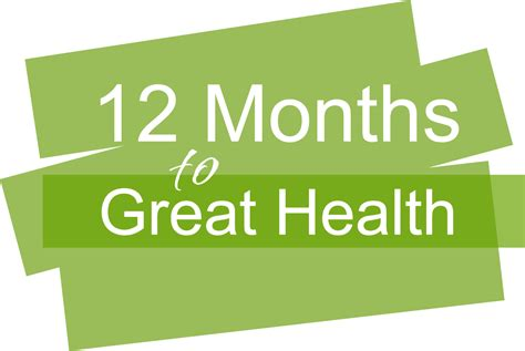 12 Month Mba Usa by 12 Months To Great Health Program Wellness By Gale