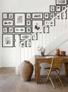 Decorating Ideas For Uneven Walls 1000 Ideas About Stairway Wall Decorating On
