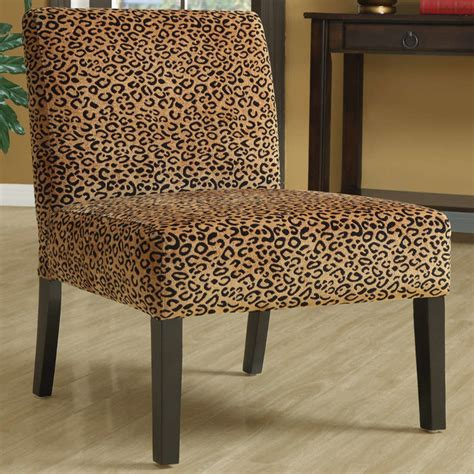 Leopard Accent Chair Leopard Fabric Accent Chair Modern Armchairs And Accent Chairs