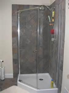 Corner Shower 187 Baths Kingston Builders