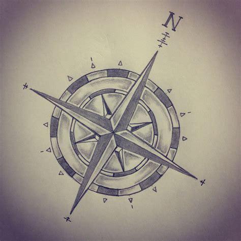 Compass Tattoo Sketch | compass tattoo sketch by ranz pinterest