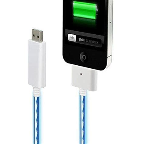 Charge Cable For Iphone Ipod Visible Light El 1 visible sync charge cable