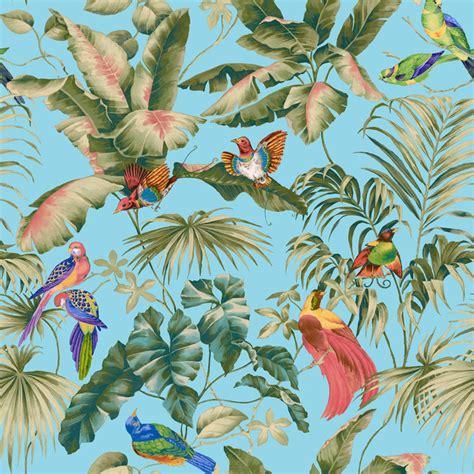 jungle canopy jungle canopy aqua wall mural photo wallpaper photowall