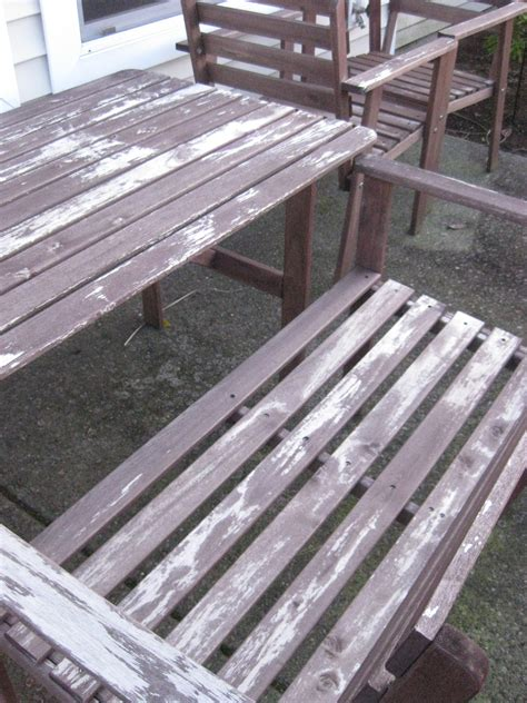 refinish outdoor furniture help us revive our ikea patio set