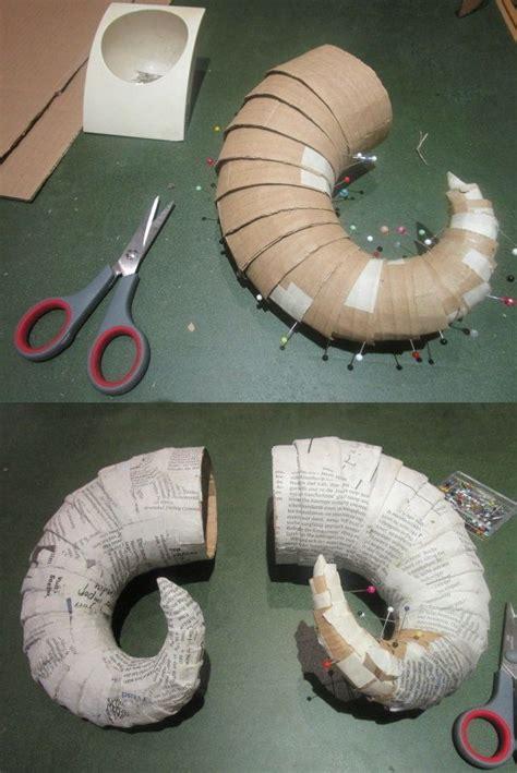 How To Make Paper Mache Horns - コスプレ用のツノ のおすすめアイデア 25 件以上 マレフィセントのツノ コスプレ