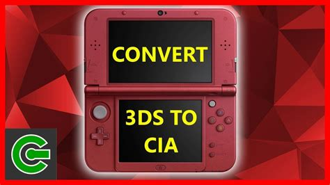 tutorial 3ds a cia 3ds tutorial how to convert 3ds format to cia format
