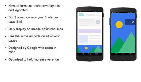 adsense mobile adsense page level ads is here to monetize your mobile site