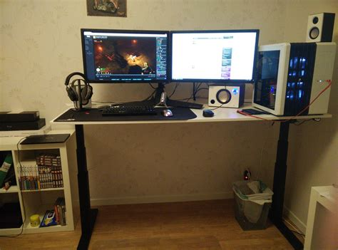Jysk Computer Desk Lemming 64x48x73cm Black datorbord ikea best storage combination w sliding doors