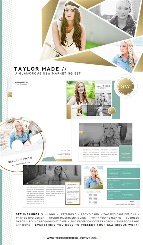 The Blog The Modern Collective Senior Magazine Templates For Photographers