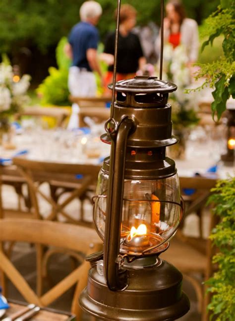 Wedding Lantern Large Sz Railroad Lantern Centerpiece Rustic Candle Centerpieces