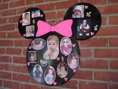 Minnie Mouse Decorations Diy by Diy Minnie Mouse Photo Collage Diy