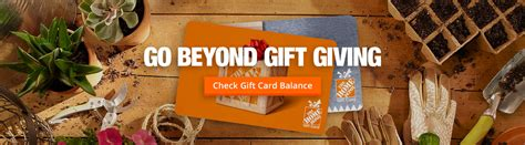 Check Balance On Home Depot Gift Card Canada - home depot gift cards