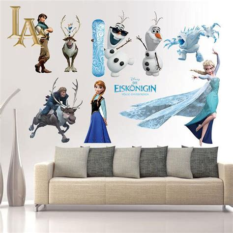 home decor for kids aliexpress com buy cartoon movie frozen wall sticker
