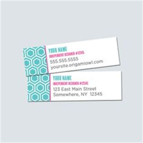 Origami Owl Label Template