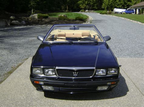 Maserati Cars For Sale by 1989 Maserati Spyder Classic Italian Cars For Sale