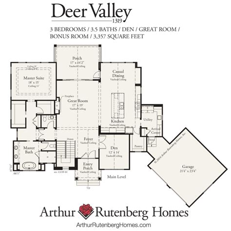 floor plans american homes la deer valley home builder deer valley 1319f mt plan collection