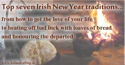new year beliefs new year traditions ireland calling