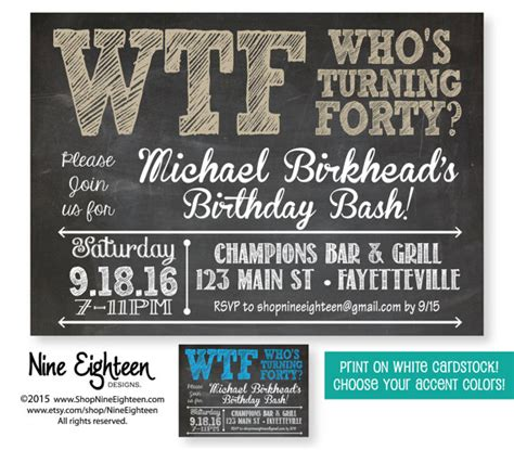 exles of 40th birthday invitations pin by crowley on 40th birthday ideas birthday 50th birthday and