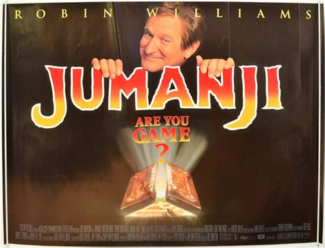 jumanji film poster jumanji original cinema movie poster from pastposters