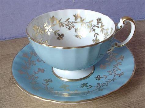 royal blue tea light holders vintage royal albert crown china tea cup and saucer
