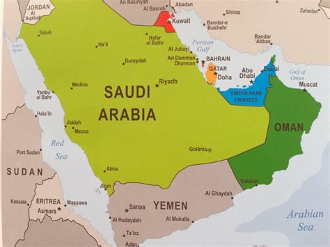 uae map middle east uae middle east map