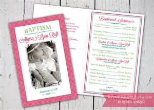 Baptism Template Lds by Sle Lds Baptism Programs Just B Cause