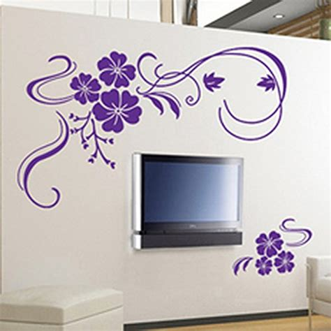 Hanging Lavender Wall Sticker Am7014 purple bathroom accessories will brighten up your bathroom webnuggetz