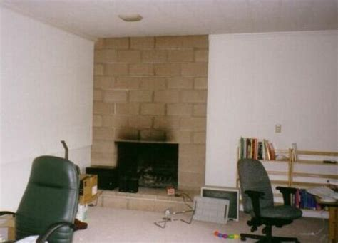 Floor To Ceiling Fireplace Makeover by Fireplace Remodeling And Refacing Before And After Pictures