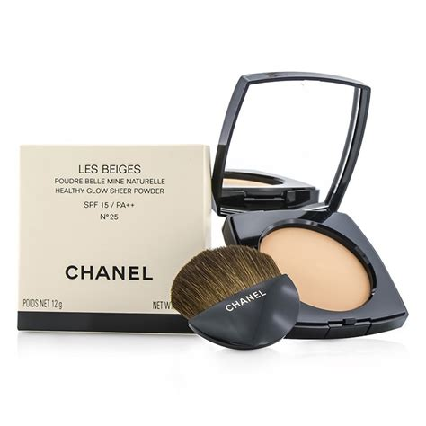 Chanel Les Beiges chanel les beiges healthy glow sheer powder spf 15 no 25 fresh