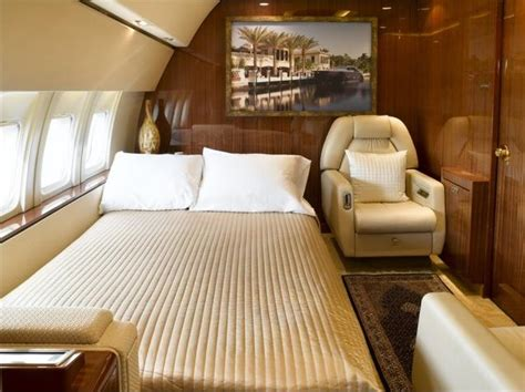 private jet with bedroom romy