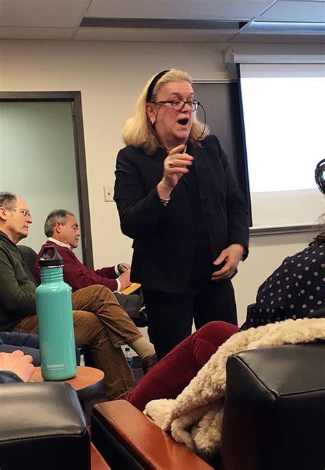 bicchieri chagne guest lecturer cristina bicchieri discusses trendsetting