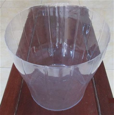 Basket Plastic Liner From Yongkang Lujiang Industry Clear Plastic Planter Liners