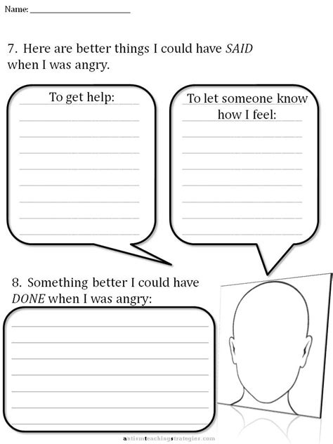 Cbt Worksheets Pdf by Cbt Children S Emotion Worksheet Series 7 Worksheets For