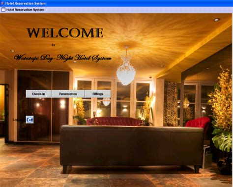 Design Your Room Online Free hotel reservation system for watataps inn java gui