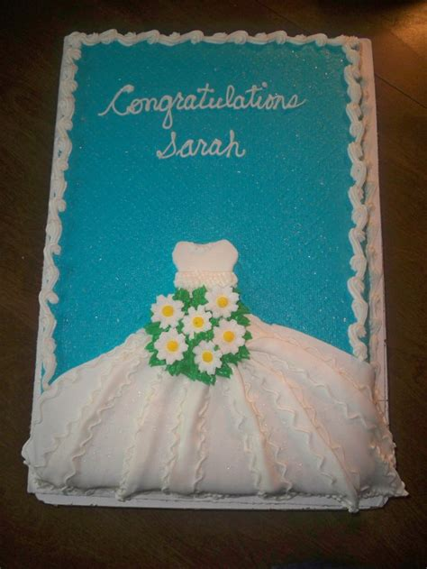Bridal Shower Sheet Cakes by Pin By Christie Stegall On Cake Ideas