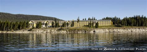 Colonial Revival by Lake Yellowstone Hotel And Cabins Wy Historic Hotels Of
