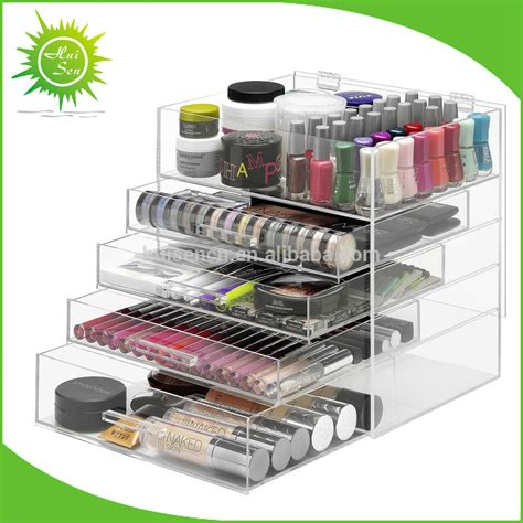 Cheap Makeup Organizer Drawers by Wholesale Acrylic Makeup Organizer With Drawers