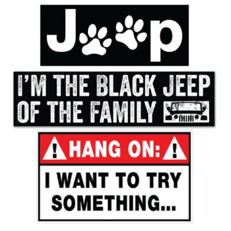 jeep windshield stickers all things jeep free shipping on all stickers and