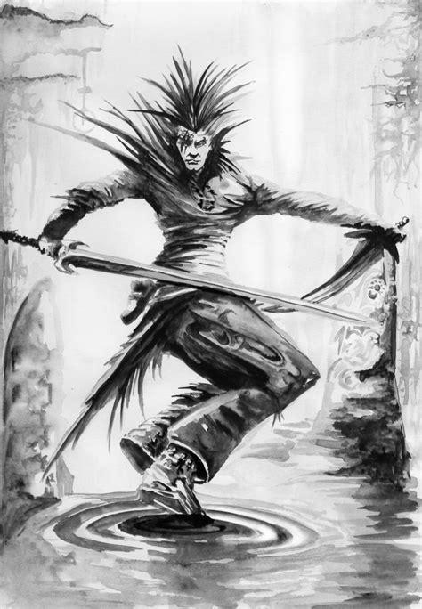 Elfo oscuro por Royalfiery | Dibujando
