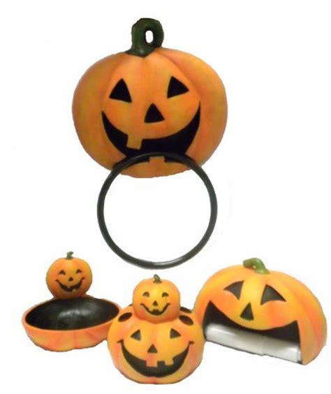 halloween bathroom set buy jack o lantern pumpkin halloween 4 pc pumpkin jack o