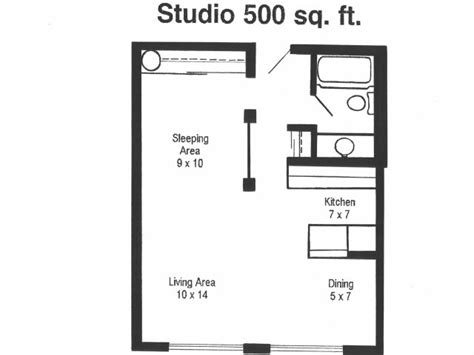 500 square foot apartment floor plans 500 square feet 1 bedroom apartment buybrinkhomes com
