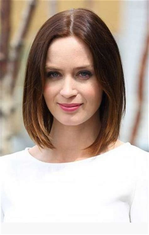 classic sleek lob hairstyle amazing blunt haircut for bob hairstyles pretty designs