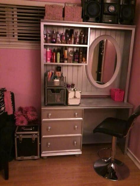 Diy Desk Into Vanity by Diy Vanity Table Ideas From Paperblog