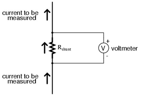how to measure voltage drop across a resistor using a multimeter ammeter design dc metering circuits
