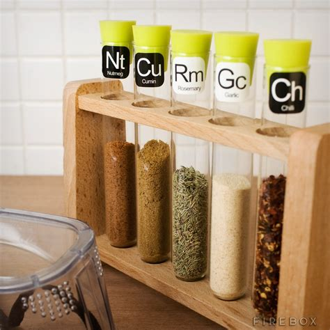 Science Spice Rack scientific spice rack firebox shop for the