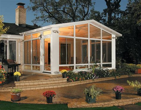 california sunrooms split level sunroom design