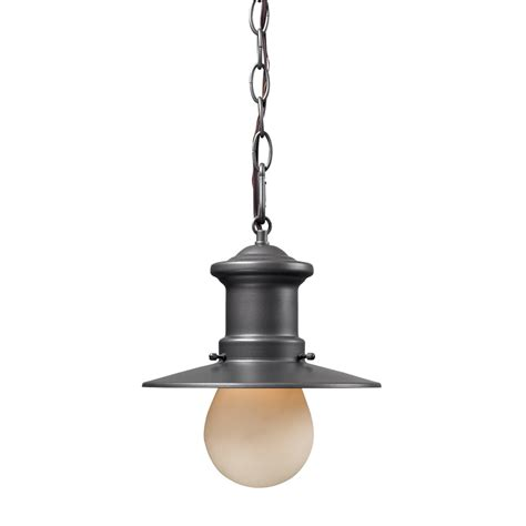 Shop Westmore Lighting 10 In H Graphite Outdoor Pendant Lowes Lighting Pendants