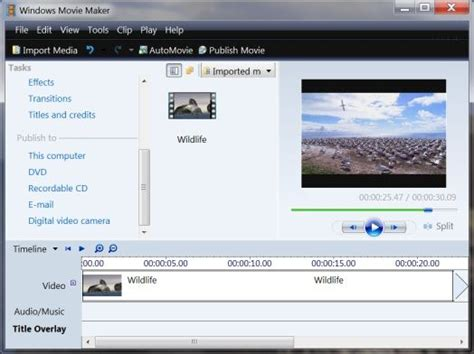 windows 7 movie maker tutorial timeline download windows movie maker installer for windows 7 v1 2