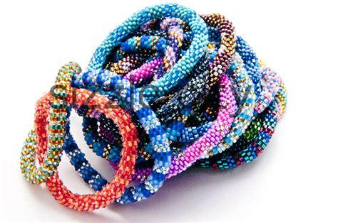 glass beaded bracelets wholesale nepal glass beaded bracelet made in nepal